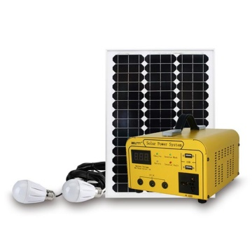 Household 150W Portable Solar Gen System Off Grid