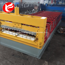 Cold colored steel roof panel roll forming machine