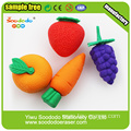 Fruit shaped stationery eraser factory