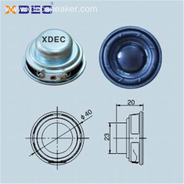 40mm 5w Bluetooth speaker