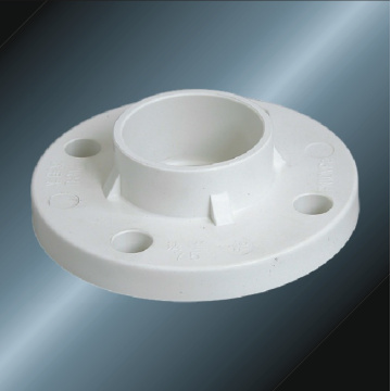 Din Pn10 Water Supply Upvc Flange White Color