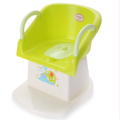 Plastic Infant Potty Chair Toilet Seat With Armrest