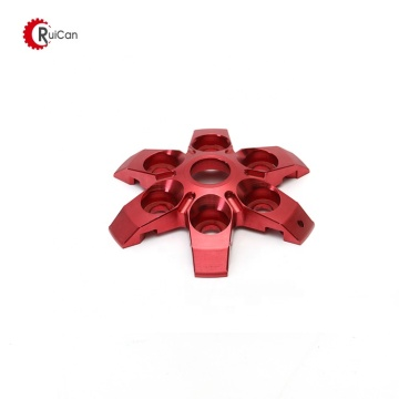aluminum cnc machining auto parts anodising wheel hub