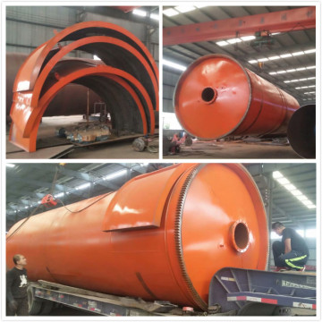 fuel from waste tyres pyrolysis machines