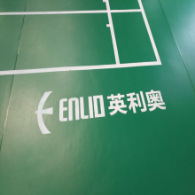High quality BWFConfirmed Badminton Court Pvc Floor