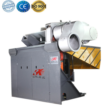 induction heating smelting furnace for silver melting