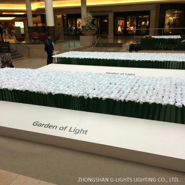 Canadian Shopping Mall Led Flower Project By G Lights 3