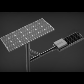 80W solar street light with battery and panel