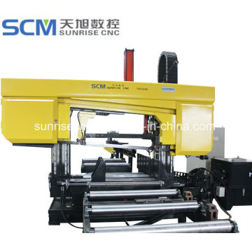 Band Sawing Machine for Beams Tubes