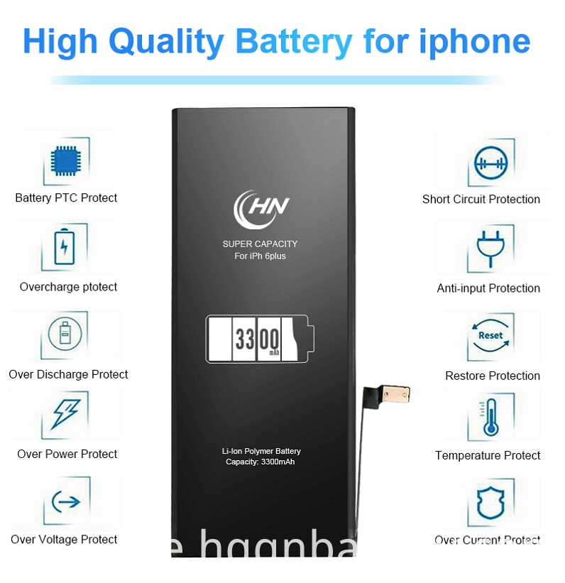 rechargeable iphone 6 plus battery
