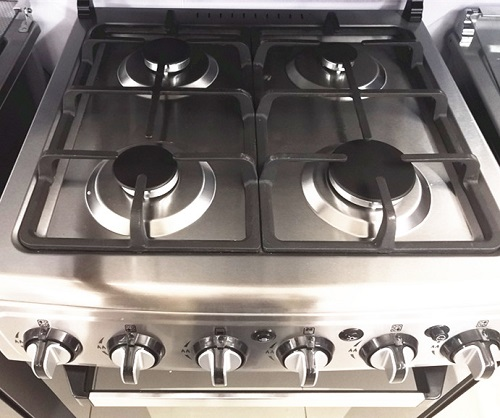 20inch Gas Range With Burner Free Standing Oven Stainless Steel Stove Home Cooking Baking Appliances