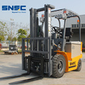 Green 2ton Electric Powered Forklift Ttruck Price