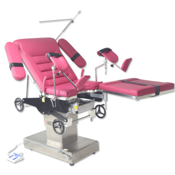 Mechanical Obstetric birthing delivery bed surgery table