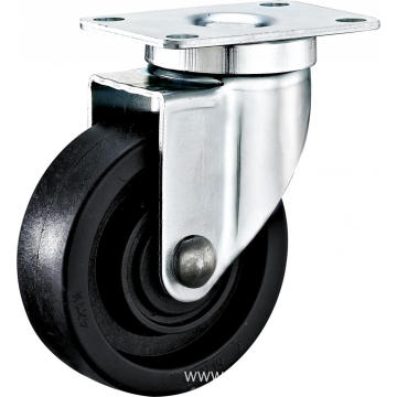 3'' Plate Swivel High Temperature Caster