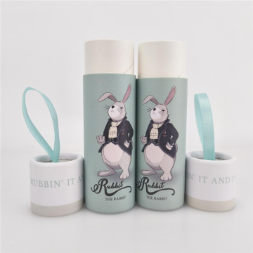 Cute Cardboard Lipstick Packaging Paper Tube Box