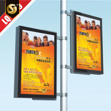 Outdoor Free standing magnetic lightbox signage