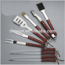 BBQ Accessories Camping Gift Set with Skewers
