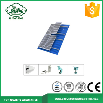Rail System And Components For Solar Panels