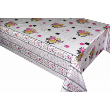Pvc Printed fitted table covers Table Linens Sale