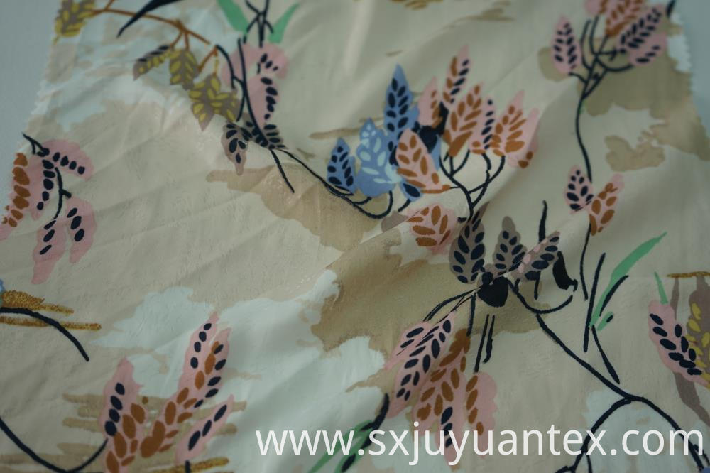 50D Polyester Meteor Jacquard Fabric
