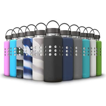 Protective Silicone Sleeve for Hydro Flask Water Bottles