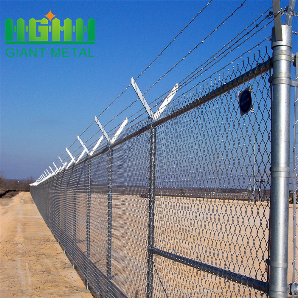 Construction Site Most Convenience Chain Link Fence