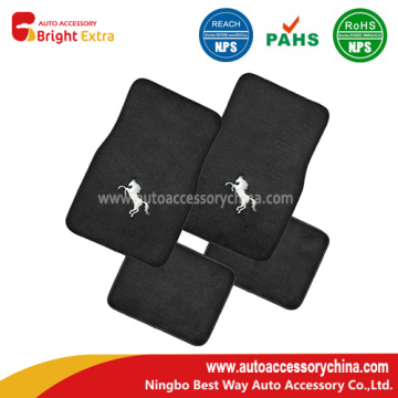 Embroidery Horse Quality Carpet Vehicle Floor Mats