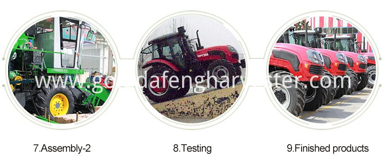Self-propelled Full Feed Rice Combine Harvester--PRODUCT LINE003