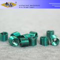Customize screw thread insert for wood