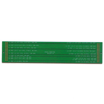 Impedance control strip multi-layer printed circuit board