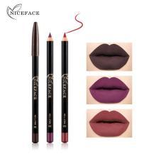 12 Colors Lip Makeup Pencils Long Lasting Waterproof Matte Lip Liner no blooming Smooth soft lipstick TSLM1