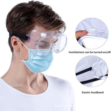 Anti Fog Anti splash PVC PC Safety Goggles