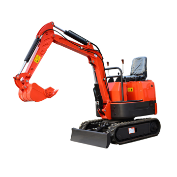 1ton mini towable track digger machine