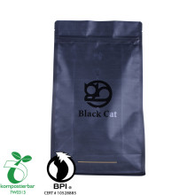 Zipper Square Bottom Biodegradable Plastic Carry Bag