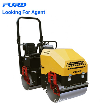 Sale 1.7ton Diesel Vibrating Asphalt Road Roller In Canada