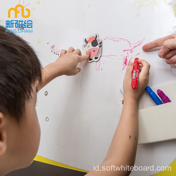 Magnetic Doodle Board Kid Color Papan Gambar Magnetik