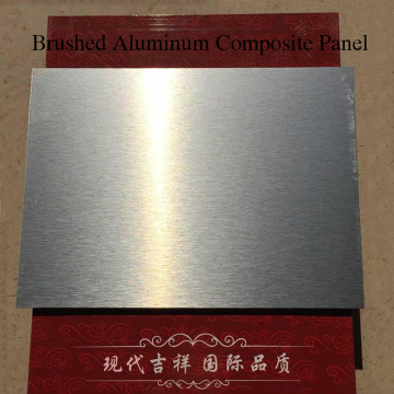 Metallic Aluminum Composite Panel for Construction Surface