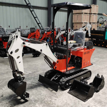 0.8 ton Chinese mini excavator for construction works