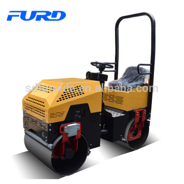 FURD 1ton vibratory roller compactor for soil compaction (FYL-880)