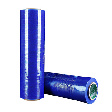 New style plastic film blue stretch roll film