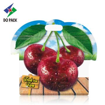 DQ PACK Fruit Vent Bag With Zipper