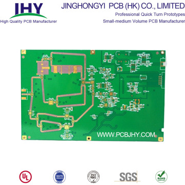 6-layer Immersion Gold F4B High Frequency RF PCB