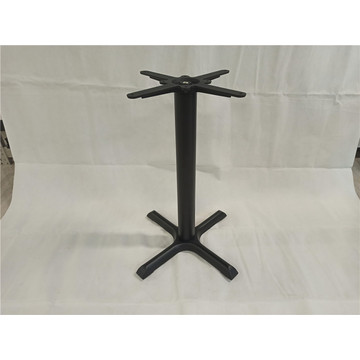 22X22'' Black X table base for dining