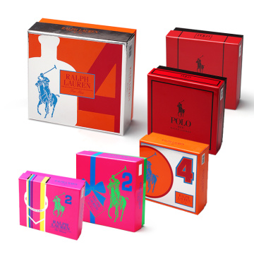 Rectangular Gift Box With Lid and Base