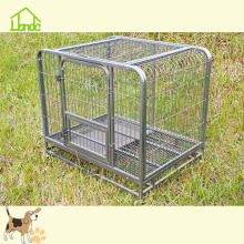 Pet dog cage with wheels