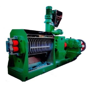 Double screw expeller for sunflower oil