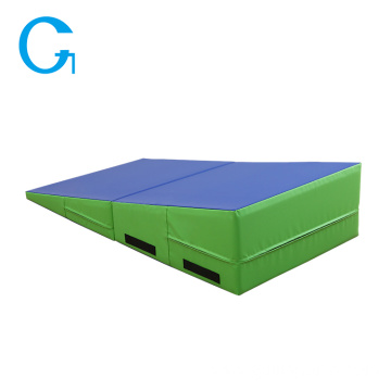 Indoor Soft Incline Cheese Wedge Shape Foam Mat