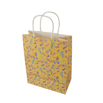 Eco-friendly Full Color Printing Vellum Paper Bag
