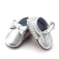 Cute Fashion Skidproof Bow Baby Girl Moccasins