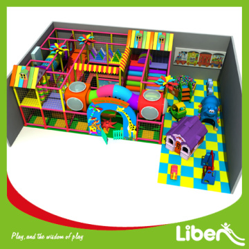 Foam indoor playground for children growing